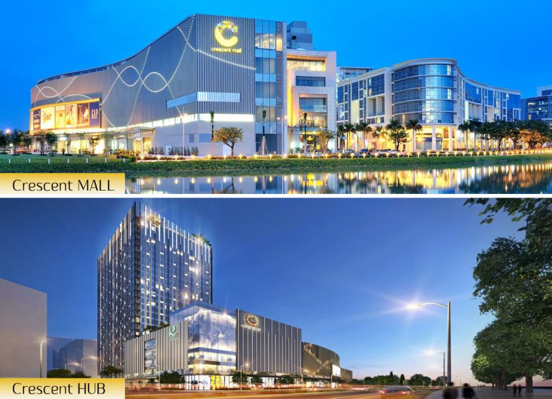 TTTM Crescent Mall 1 và 2