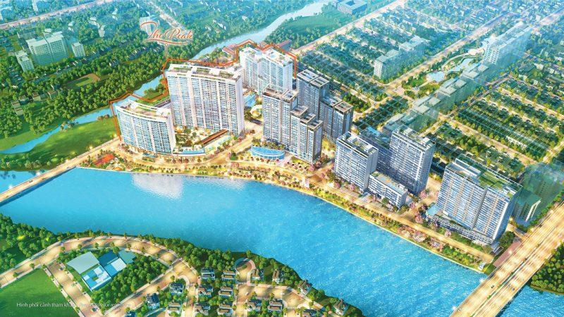 Phối cảnh dự án căn hộ Midtown Phú Mỹ Hưng