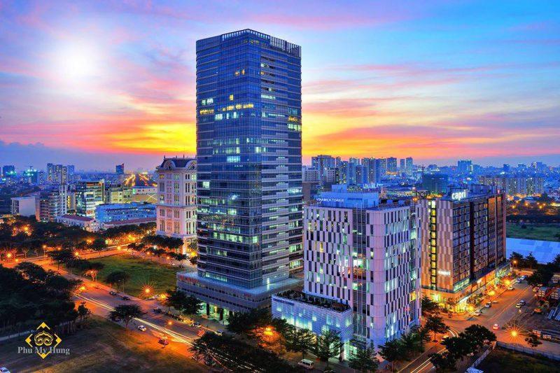 khu thương mại tài chính quốc tế tại Phú Mỹ Hưng