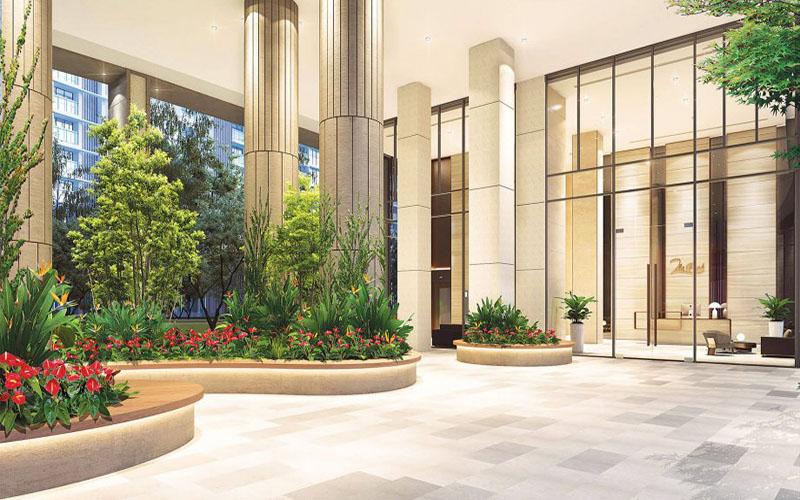 Sảnh Lobby tiêu chuẩn khách sạn 5 sao