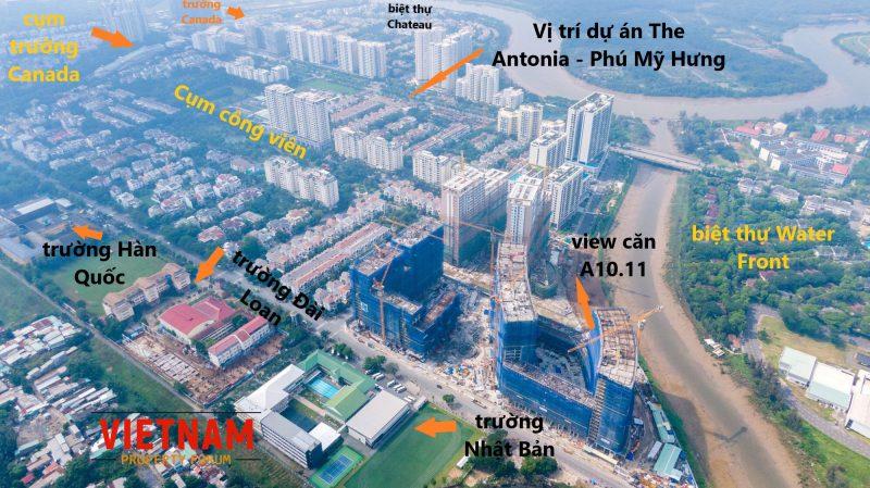 Khu Nam Viên - nơi tọa lạc dự án The Antonia