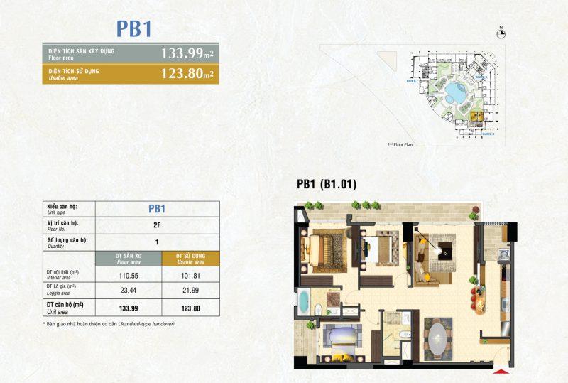 Kiểu PB1 River Park Premier