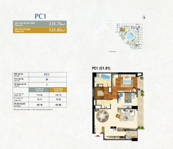 Kiểu PC1 River Park Premier