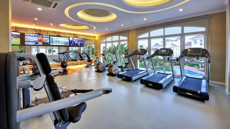 Phòng Gym trong Chateau