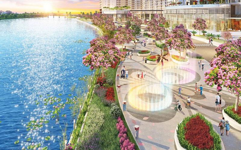Nổi bật với dự án công viên Hoa Anh Đào đầu tiên tại Việt Nam