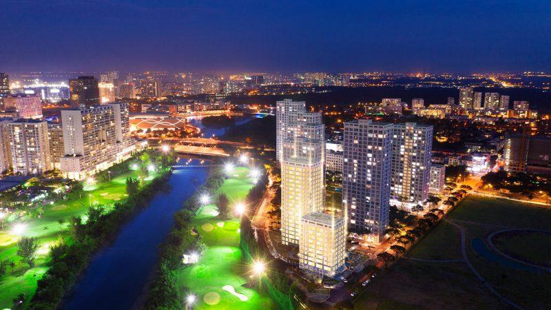 Dự án căn hộ Happy Valley view sông và Sân Golf 9 lỗ