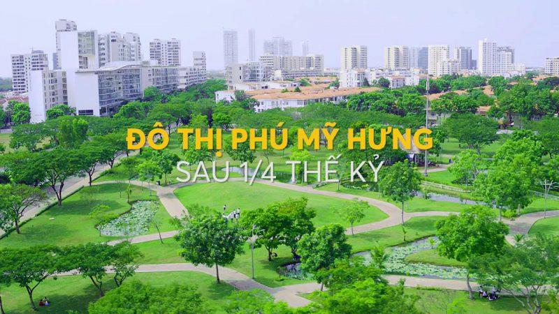 Sau 1/4 thế kỷ. Phú Mỹ Hưng đã đầu tư hàng chục triệu Đô la cho hệ thống cây xanh