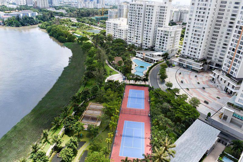 View sông dự án Riverside Residence