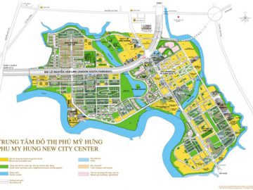 Khu đô thị Phú Mỹ Hưng với diện tích 433 ha