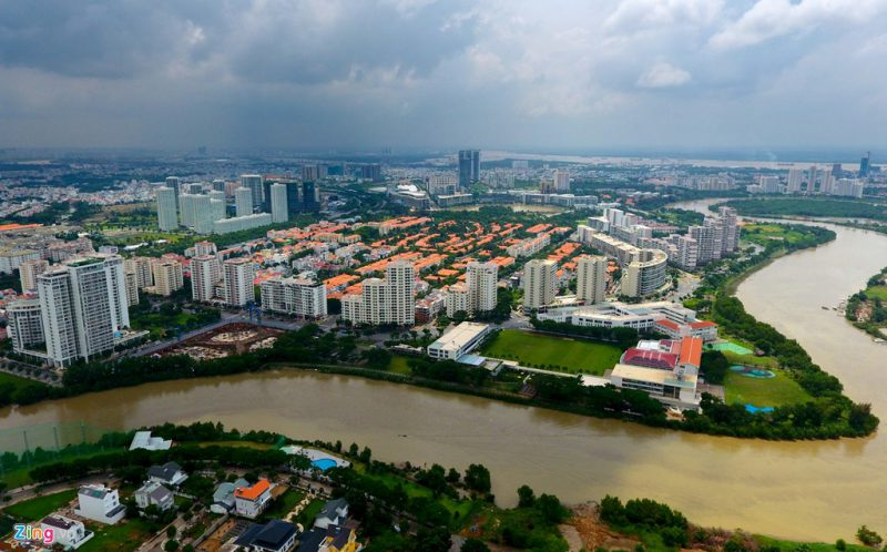 Một phần Khu Nam Thành phố Hồ Chí Minh