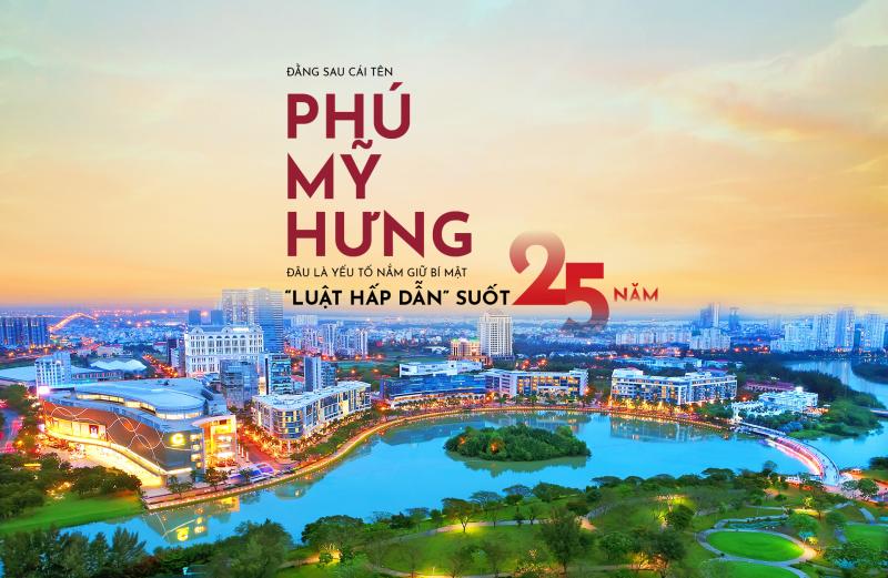 Khu đô thị Phú Mỹ Hưng và hơn 25 năm hình thành và phát triển