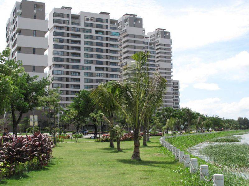 Góc chụp tại dự án căn hộ Phú Mỹ Hưng