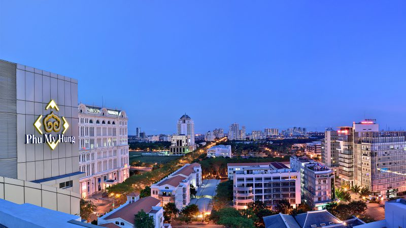 Hình ảnh thực tế từ góc chụp tại tòa nhà Phú Mỹ Hưng