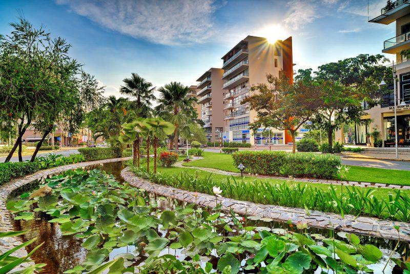 Góc chụp tại Khu căn hộ ở Cảnh đổi của CĐT Phú Mỹ Hưng