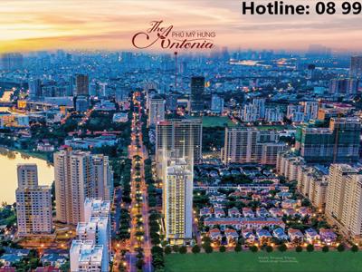 Dự án The Antonia Phú Mỹ Hưng liền kề dự án phức hợp Midtown
