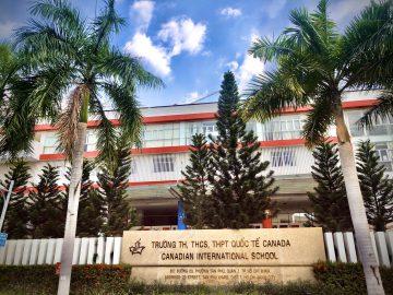 Trường liên cấp 1,2,3 Canada nằm trong KĐT Phú Mỹ Hưng