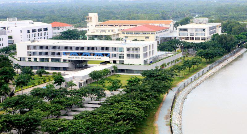 Trường Quốc tế Nam Sài Gòn (SSIS). 1 trong 2 trường Quốc tế được liên thông trực tiếp với nước ngoài