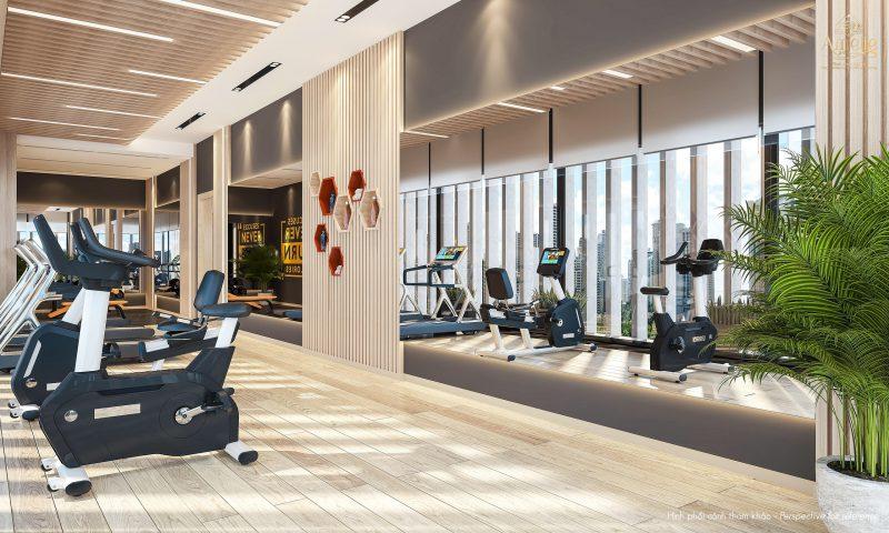 Phòng Gym tại dự án